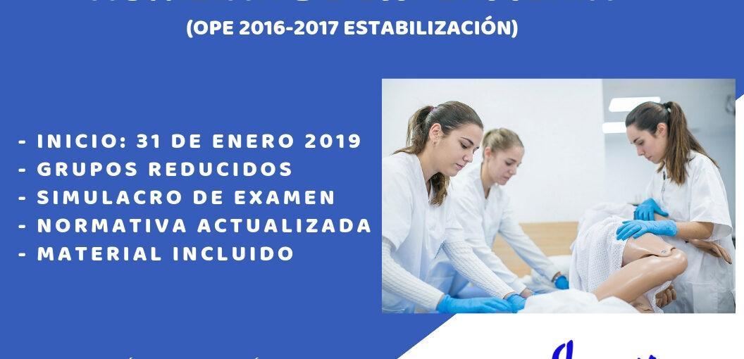 PREPARACIÓN PRESENCIAL OPOSICIONES AUXILIAR DE ENFERMERÍA