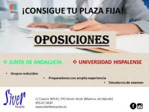 OPOSICIONES JUNTA DE ANDALUCÍA Y UNIVERSIDAD HISPALENSE