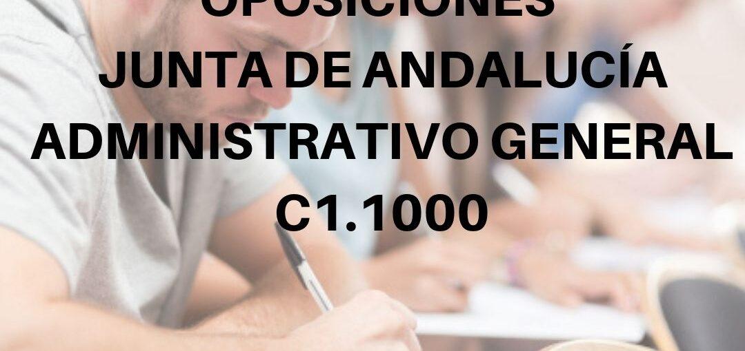 GRUPO DE REPASO OPOSICIONES JUNTA DE ANDALUCÍA ADMINISTRATIVO GENERAL (C1.1000)