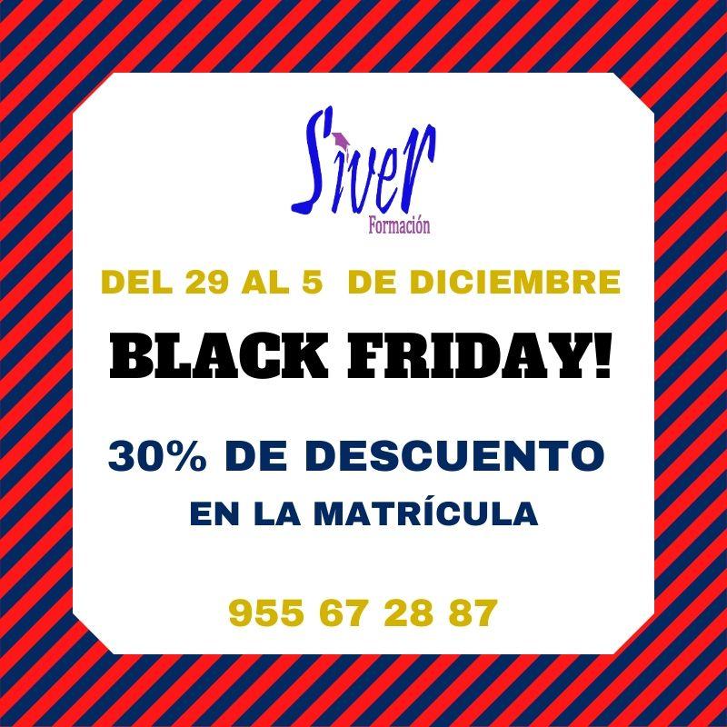 ¡¡BLACK FRIDAY POR TIEMPO LIMITADO!!