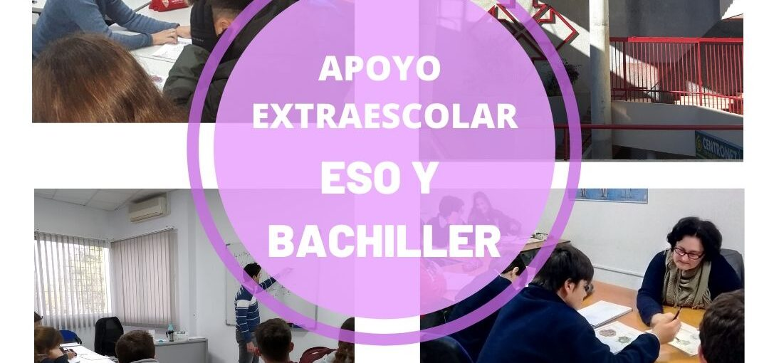 APOYO EXTRAESCOLAR- ESO Y BACHILLERATO