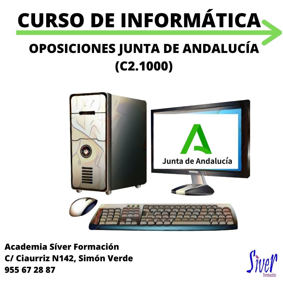 CURSO INFORMÁTICA OPOSICIONES AUXILIAR ADMINISTRATIVO JUNTA DE ANDALUCÍA