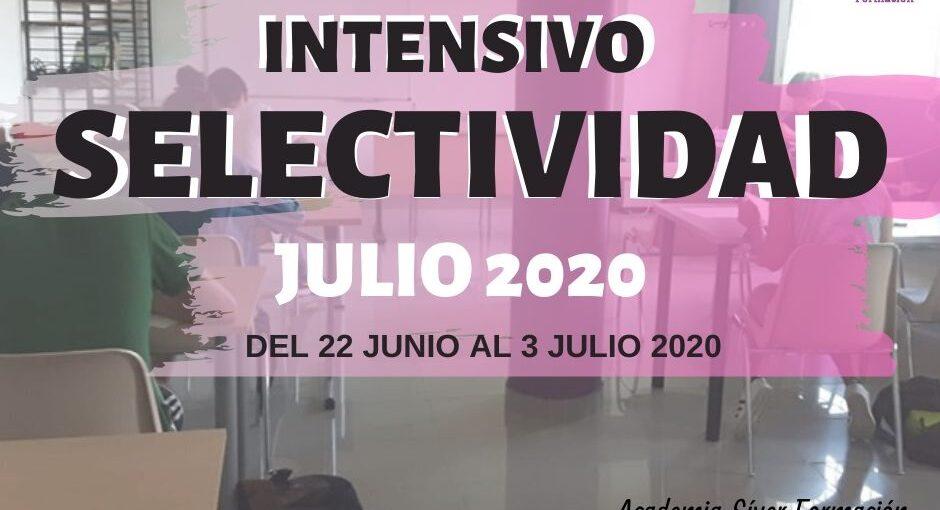 CURSO INTENSIVO SELECTIVIDAD JULIO 2020