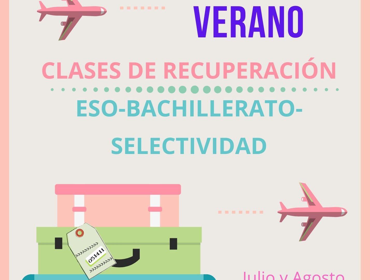 CLASES DE RECUPERACIÓN