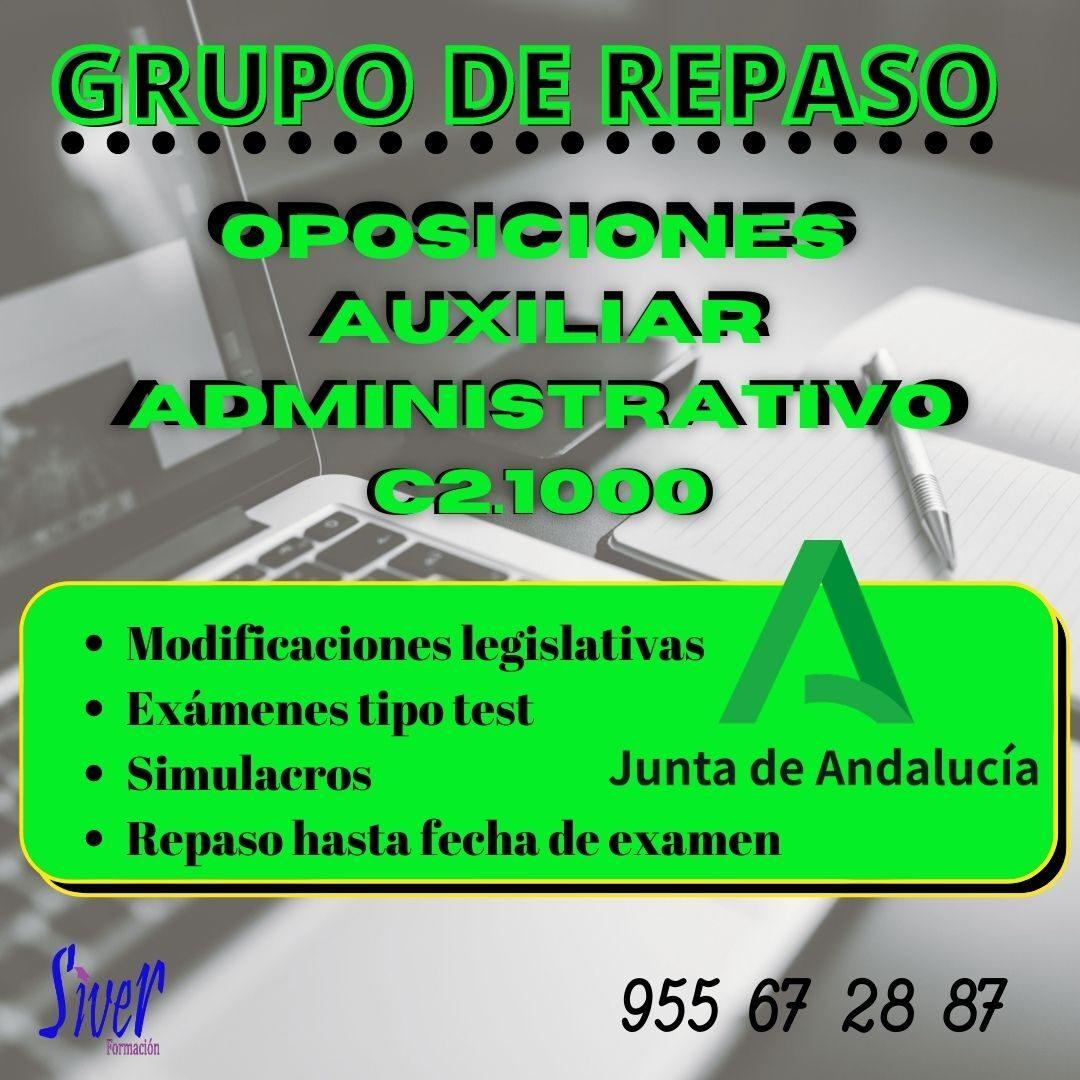 GRUPO DE REPASO AUXILIAR ADMINISTRATIVO JUNTA DE ANDALUCÍA