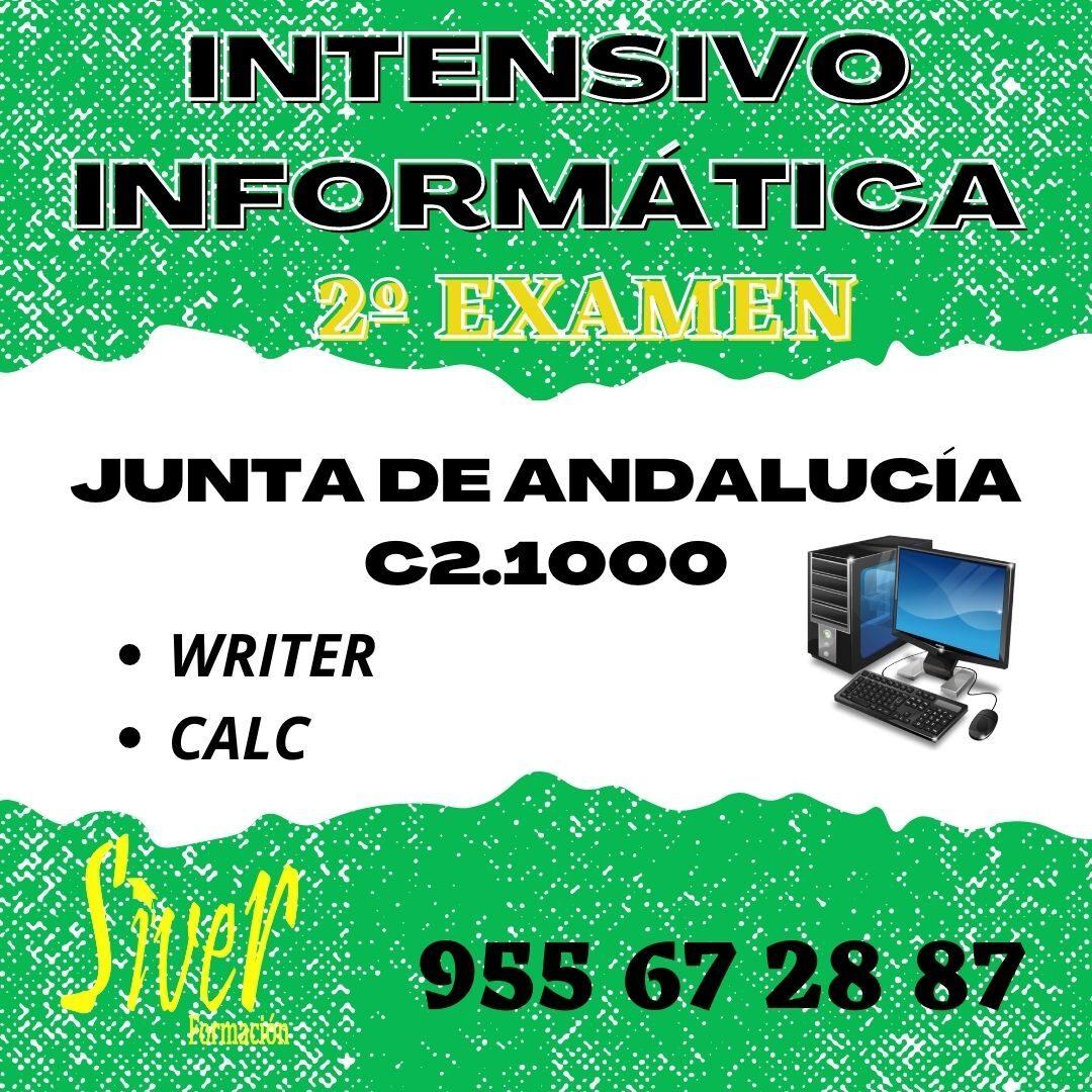 CURSO INTENSIVO C2.1000 2ºEXAMEN JUNTA DE ANDALUCIA